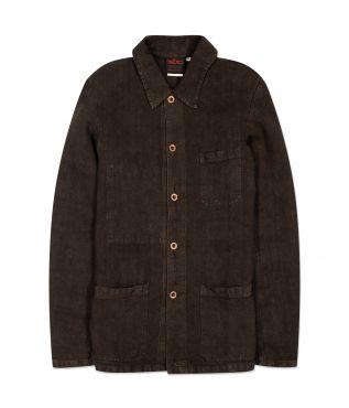 Куртка 5C Shorter Heavy Linen Canvas Elk