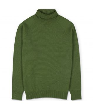 Свитер Aging Wool Turtle Neck Green
