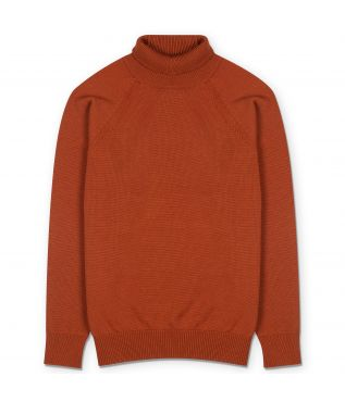 Свитер Aging Wool Turtle Neck Orange