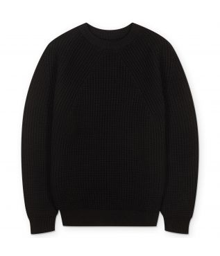 Свитер Signature Crew Neck Black