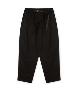 Брюки Linen Wide Tapered Black