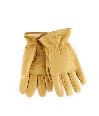 Перчатки Buckskin Leather Lined Gold