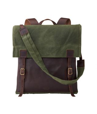 Рюкзак Weekender Briar Oil Slick Olive Waxed Canvas