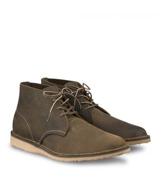 Ботинки 3327 Weekender Chukka Olive Brown Roughneck