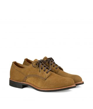 Ботинки 8043 Merchant Oxford Olive Mohave