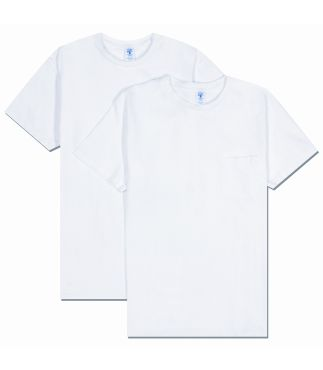 Футболка 2-Pack Pocket White