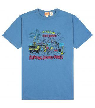 Футболка Road Runner Surfing Looney Tunes Blue