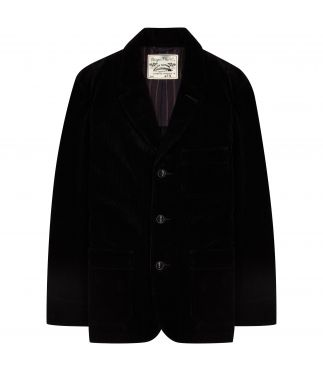 Пиджак 3 Button Corduroy Black