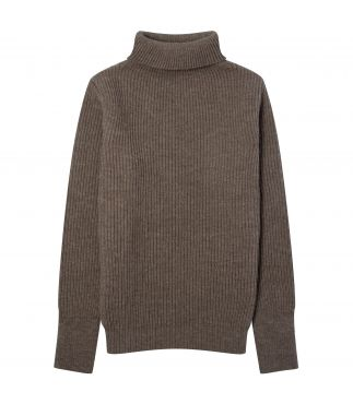 Свитер Navy Turtleneck Natural Taupe