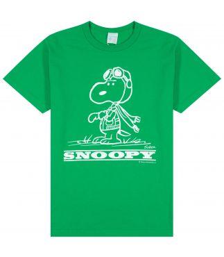 Футболка Snoopy Green