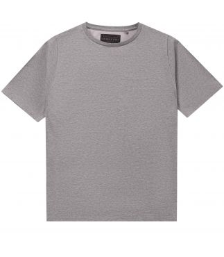 Футболка Crew Neck Solid Silver Gray