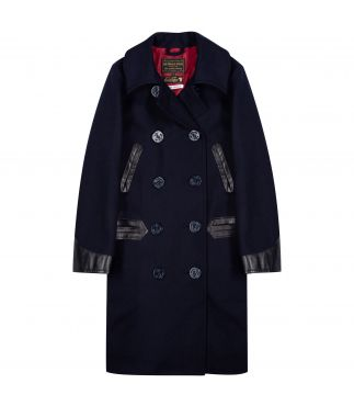 Пальто Pea Coat Dark Navy