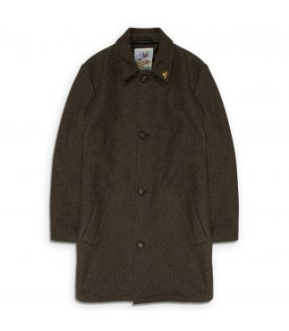 Пальто Men's Stafford Tweed Mouse-Brown