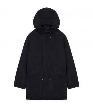 Куртка William Gibson x Buzz Rickson's M-51 Down Nylon Black