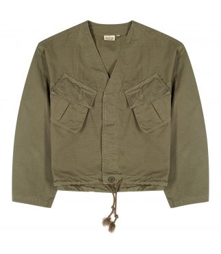 Куртка No Collar US Short Army