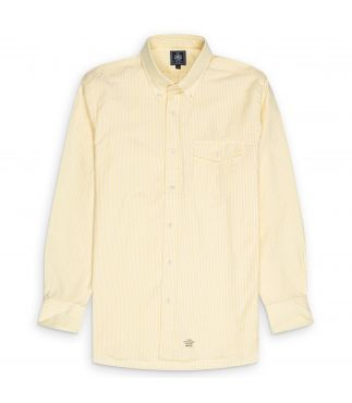 Рубашка Oxford Button Down Yellow Stripe