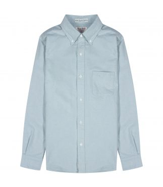 Рубашка Oxford Button-Down Indigo Light