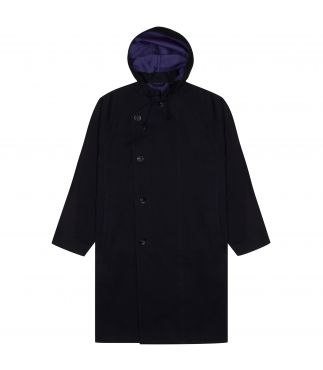 Пальто Lond Hooded Indigo