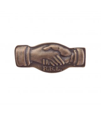 Значок Hands Brass Pin