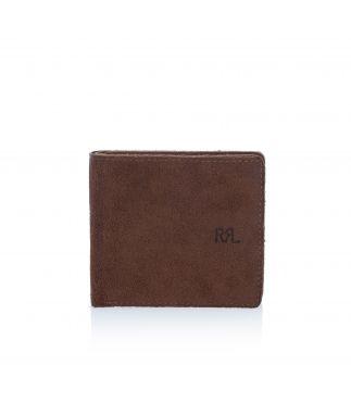 Портмоне Bi-fold Leather Suede