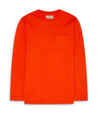 Лонгслив Heavy Duty Pocket Safety Orange