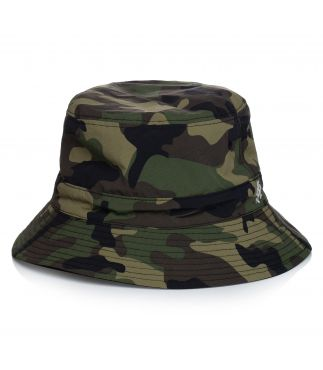 Панама Shell Reversible Camo x Black