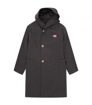 Плащ W's Nylon Taffeta Hooded Coat Deep Grey