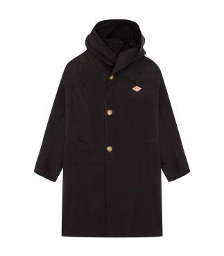Плащ W's Nylon Taffeta Hooded Coat Black