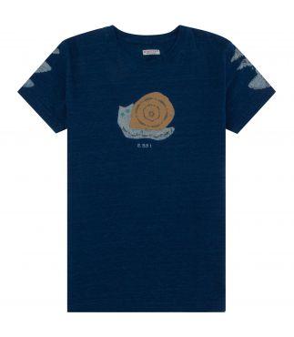 Футболка Snail Harvey Indigo