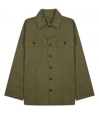 Куртка M-47 Herringbone Twill Olive