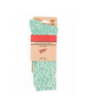 Носки Cotton Ragg Green/White