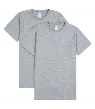 Футболка 2-Pack Pocket Heather Grey