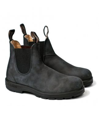 Ботинки 587 Rustic Black Leather