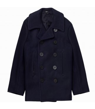 Пальто Wool Pea Coat Navy