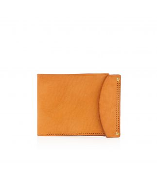 Портмоне Leather Wallet Yellow