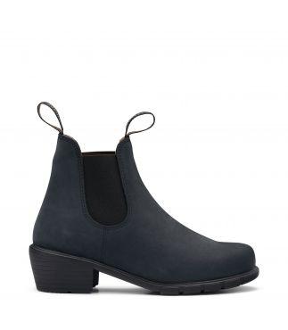 Ботинки 1960 W's Heeled Nubuck Black Leather
