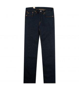 Джинсы 5 Pocket Slim Fit Twill Washed Indigo Blue