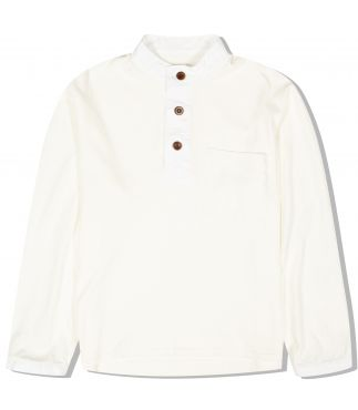 Лонгслив Washi x Cotton Jersey Smock White