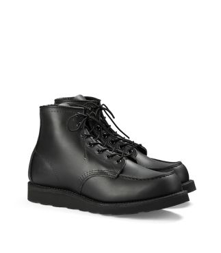 "Ботинки 8137 6"" Classic Moc Toe Black Chrome"