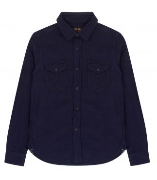 Рубашка Heavy Flannel Indigo