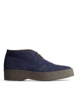Ботинки Hi Top Navy Suede