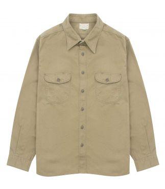 Рубашка Herringbone Work Olive