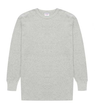 Лонгслив Crew Neck Thermal Grey