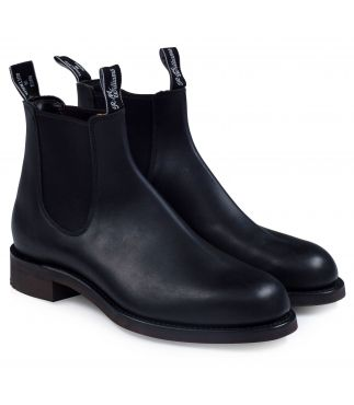 Ботинки Gardener Greasy Kip Leather Black
