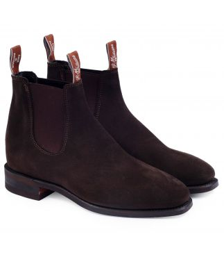 Ботинки Comfort Craftsman Suede Chocolate