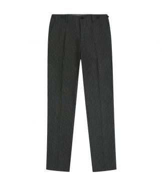 Брюки French Work Striped Charcoal