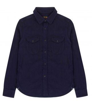 Рубашка Heavy Flannel Indigo