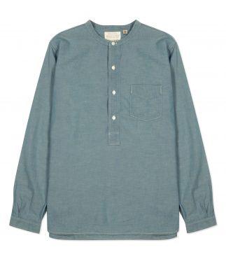 Рубашка Round Collar Pullover Blue