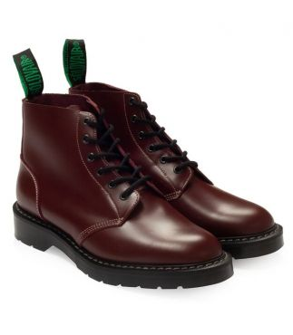 Ботинки Smooth 6 Eye Oxblood