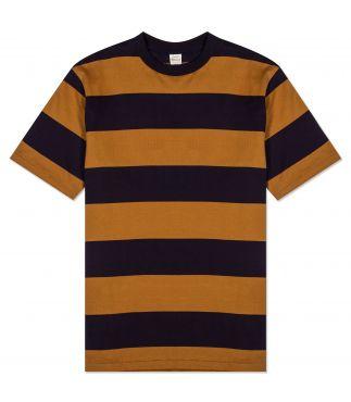 Футболка 3inch Mustard/Navy Stripe